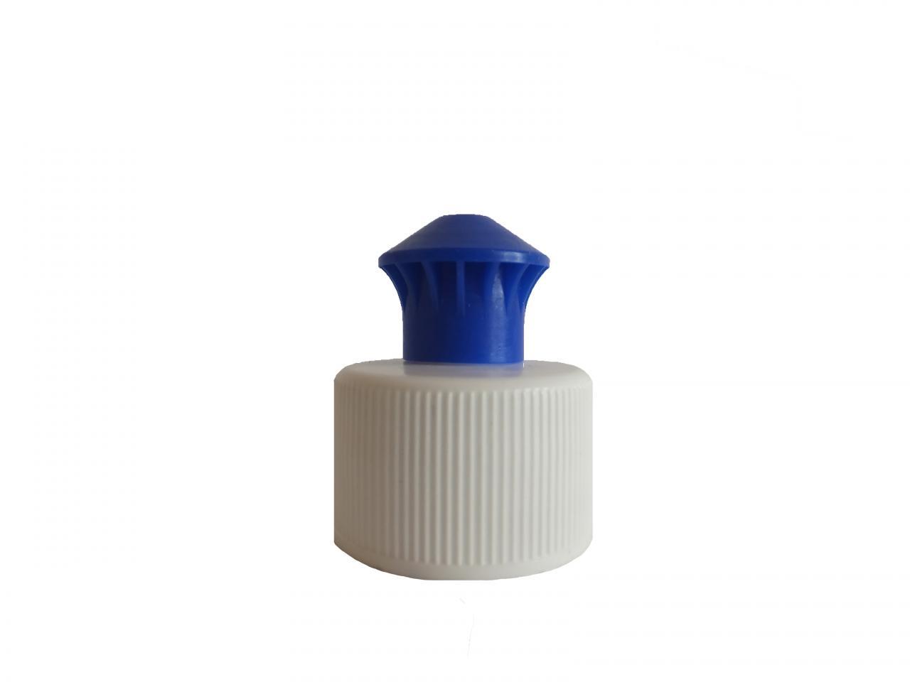 Bouchon Push Pull Bleu